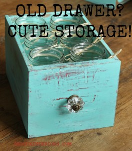 Don't drop your drawers…into the trash that is, Redoux them!
