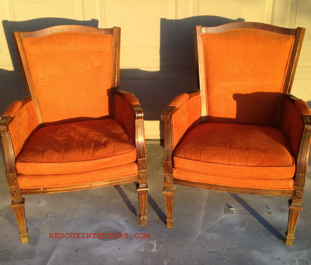 Orange Chairs JUNK