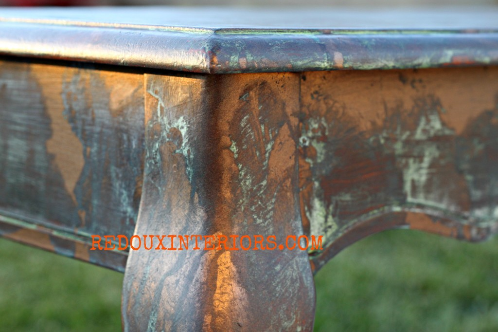 Copper Patina Redouxinteriors