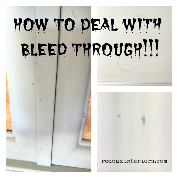 Bleed through redouxinteriors