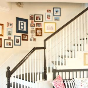 Trashy Tuesday Create a Photo Gallery Wall for Cheap