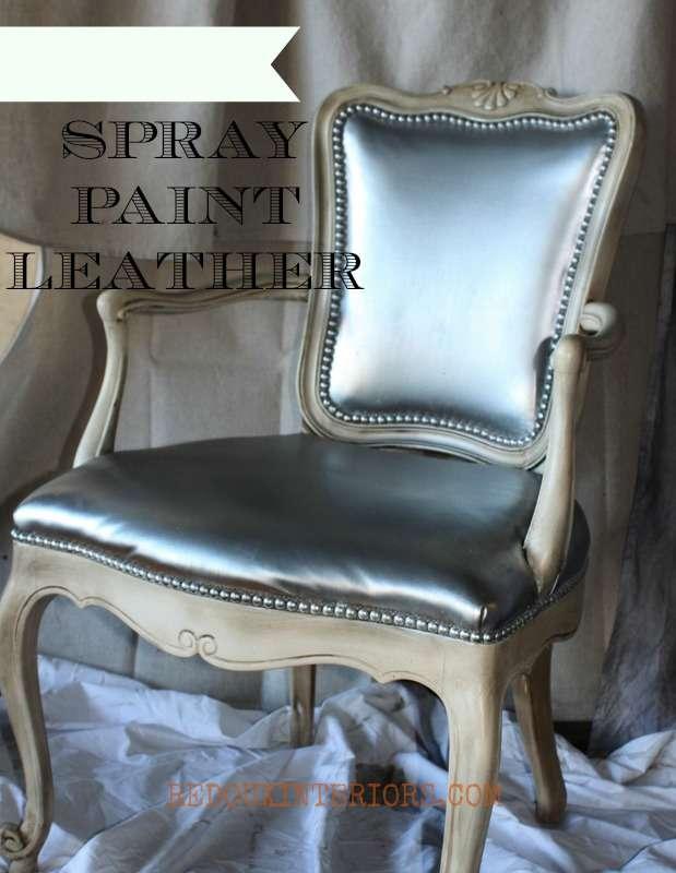 Silver Chair in workshop REDOUXINTERIROS
