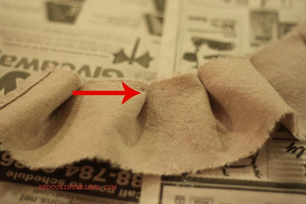 Drop Cloth Ruffle