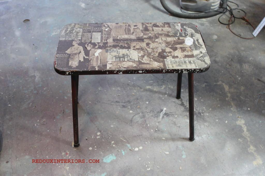 Dumpster  table