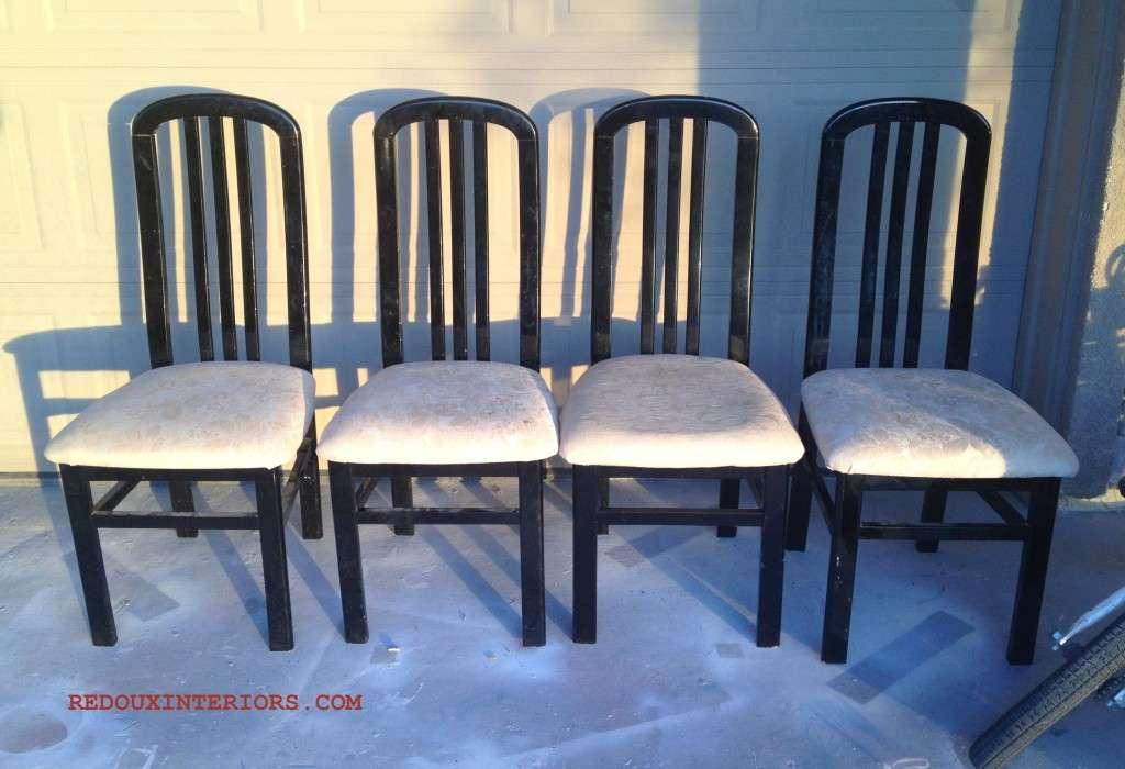 Black chairs JUNK
