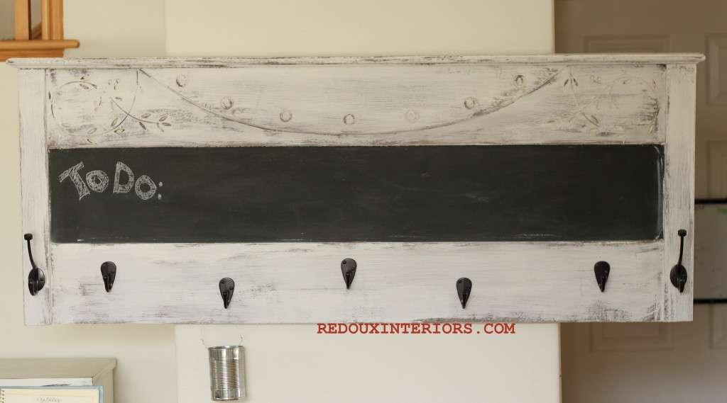 Headboard to coat rack 1