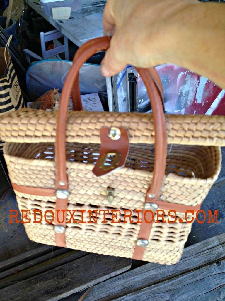 Basket purse