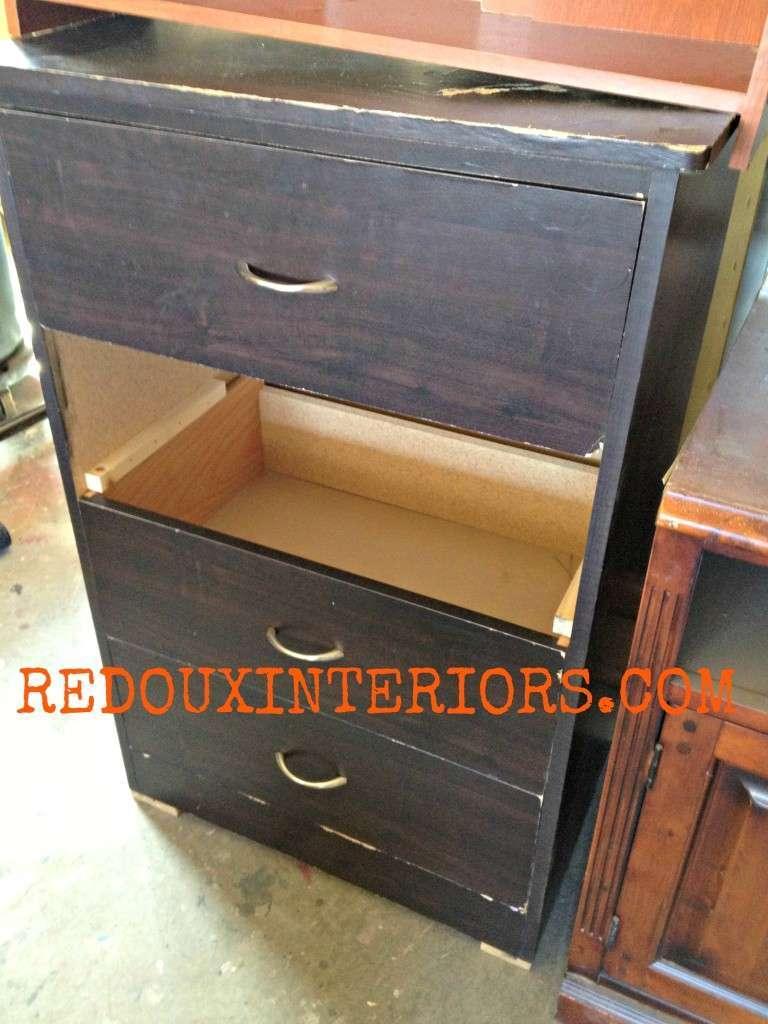 Dresser missing drawer