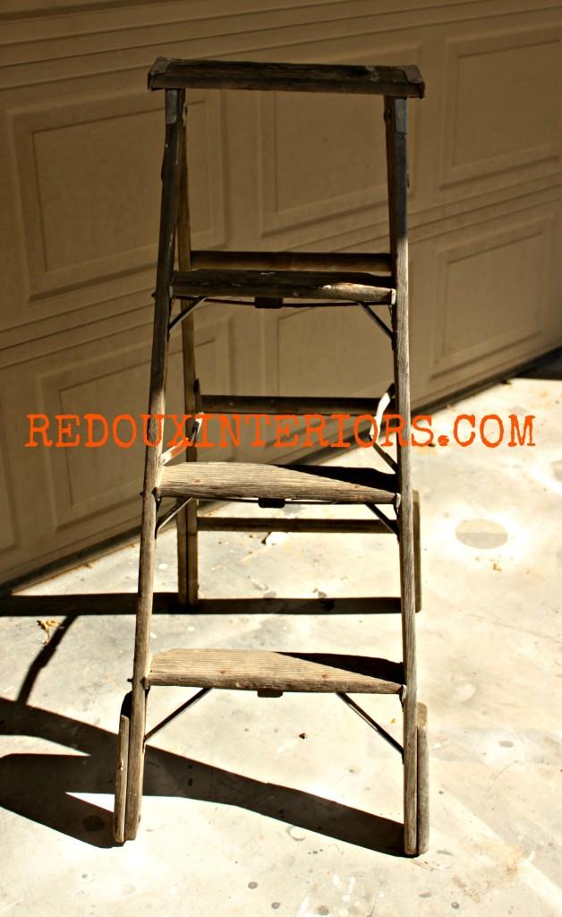 Ladder from Dumpster