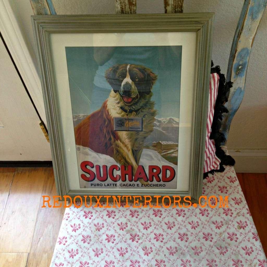 Suchard Dog redouxinteriors