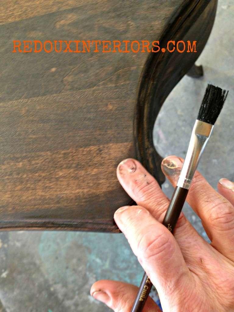 touching up stain redouxinteriors