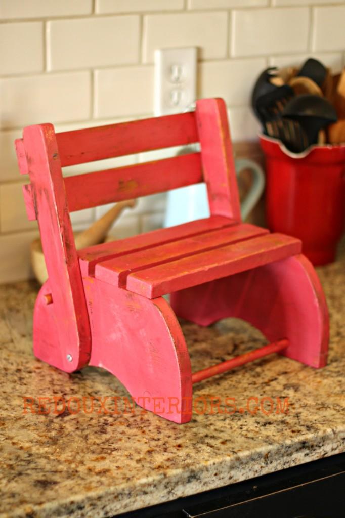 Decorative Red Chair Redouxinteriors