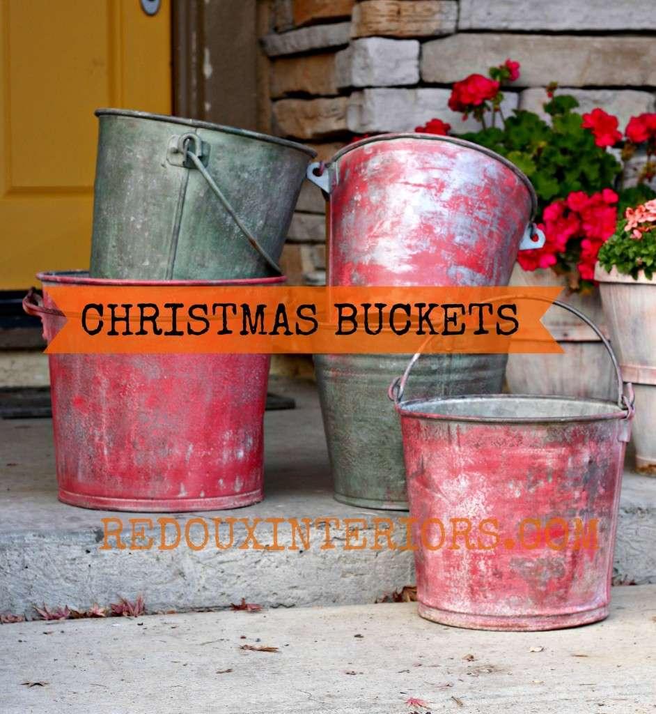 Michigan Pine Traverse City Cherry Buckets  3