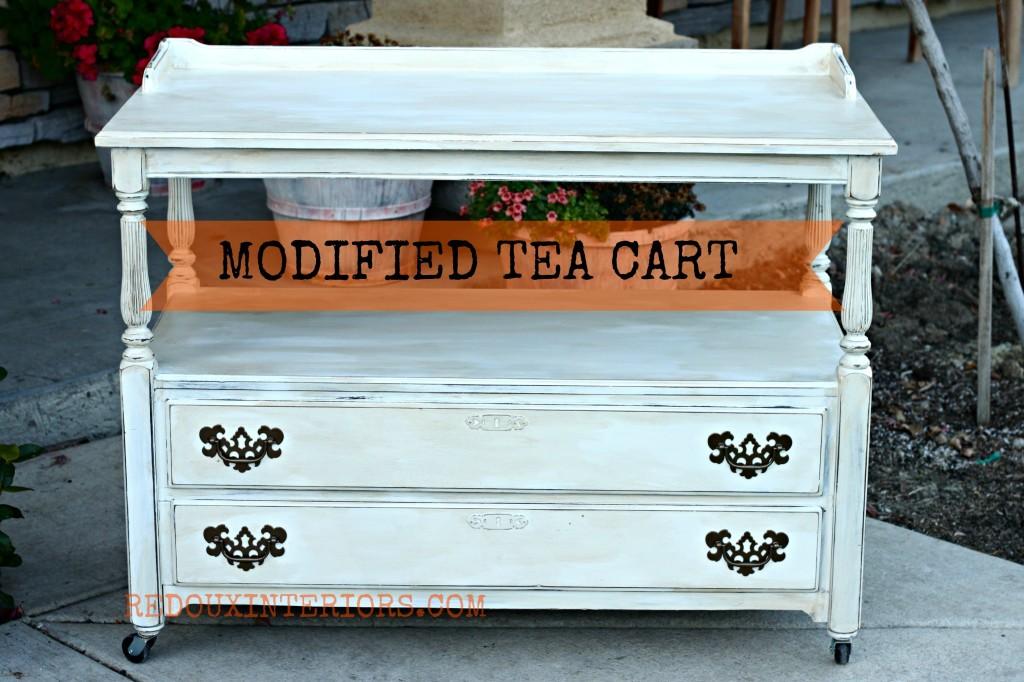 Tea Cart BANNER  Redouxinteriors