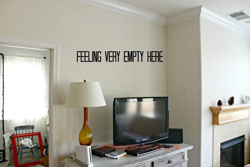 Empty Wall above TV Redouxinteriors - Copy
