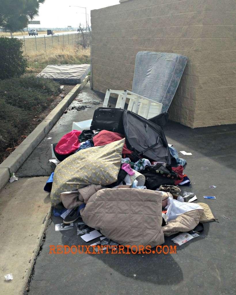 Home Depot garbage