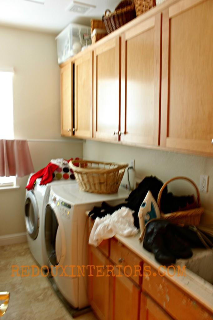 Laundry Room in need of a redo redouxinteriors