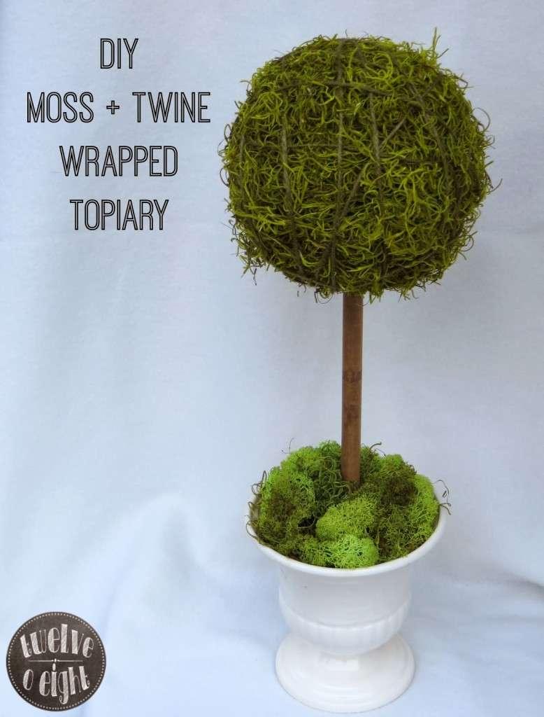 diy topiary twelve o eight