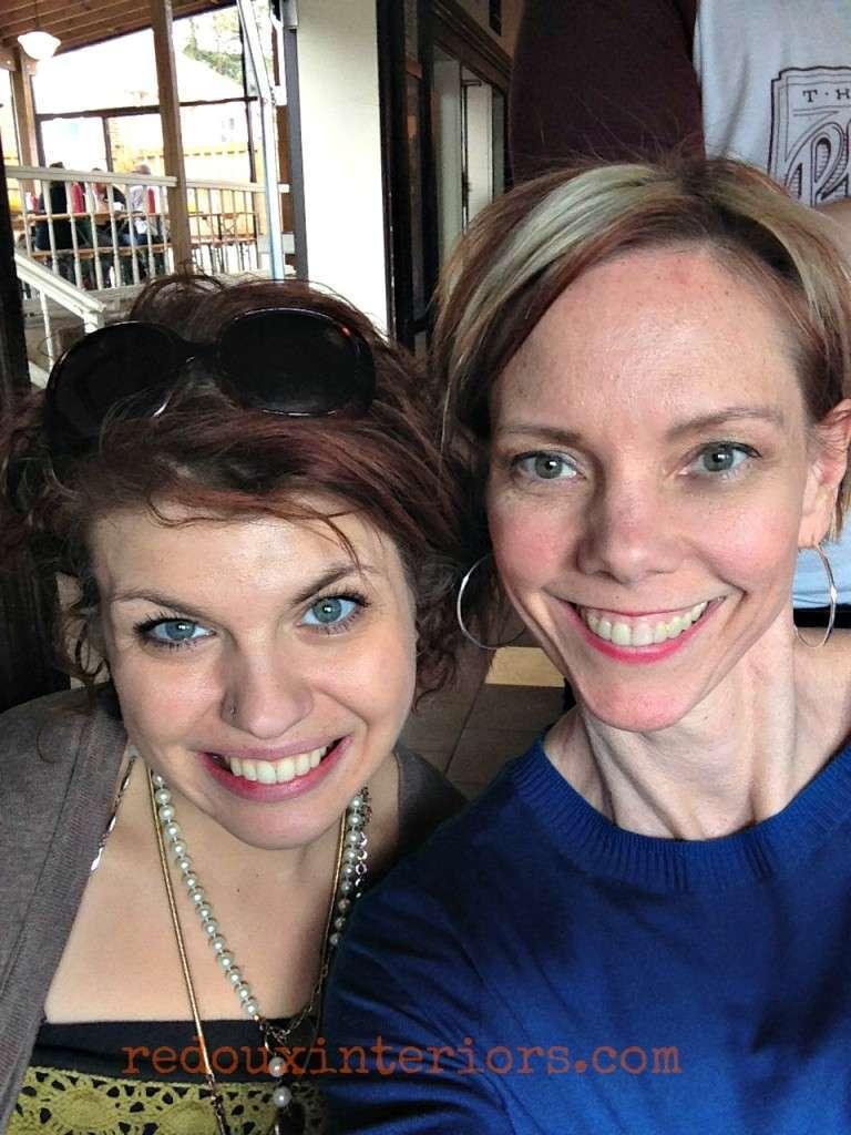 Lauren Morris defore and Karen Berg redouxinteriors