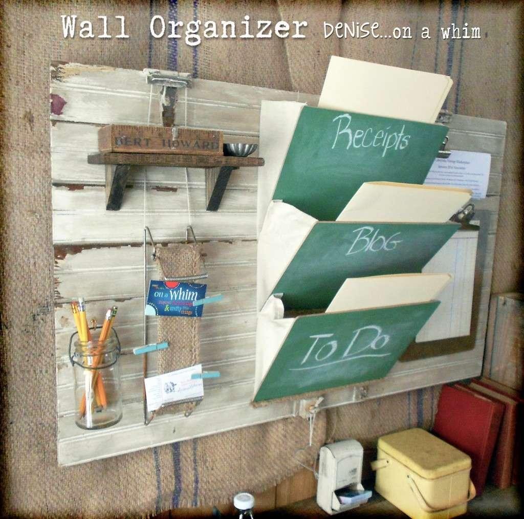 WallOrganizer3 Denise on a Whim