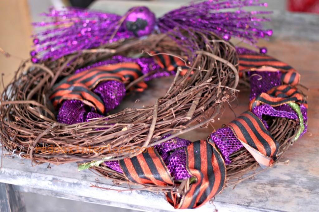 Grape vine wreaths