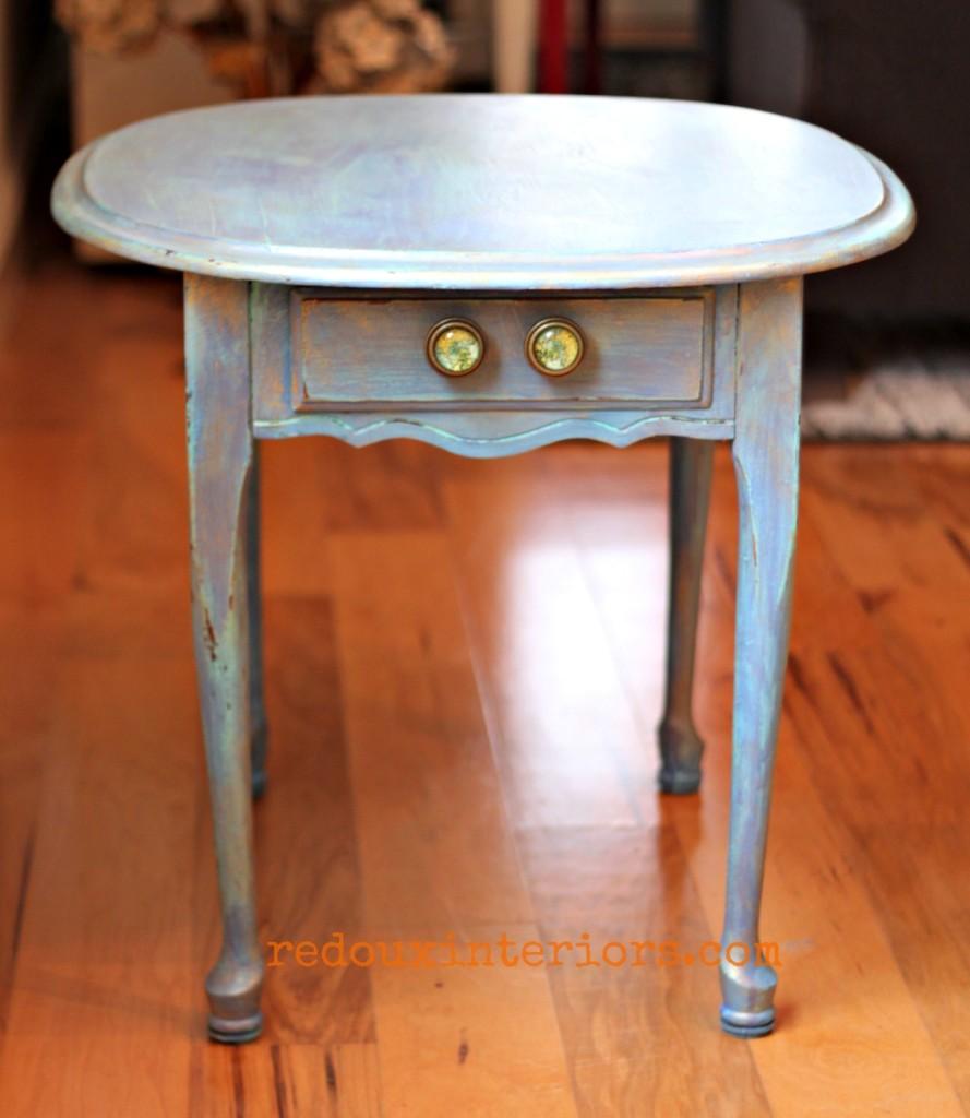 Under seat table 2 cece caldwells blues redouxinteriors