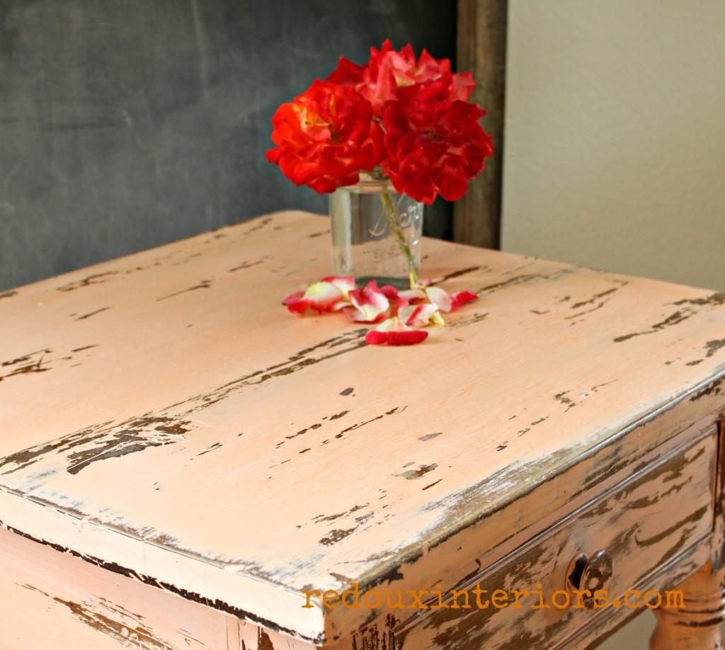 Chippy Table top CeCe Caldwells Custom Mix Redouxinteriors