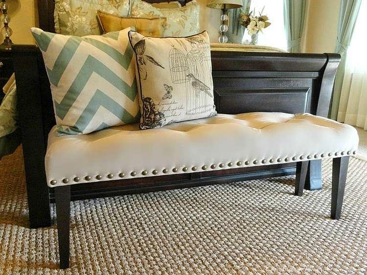 Drop cloth bench