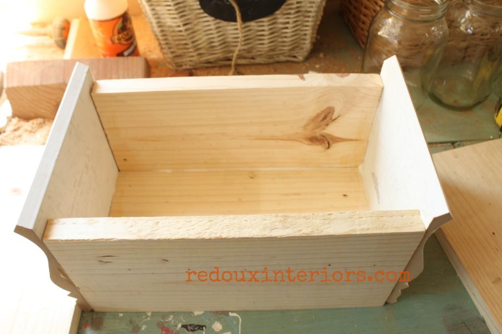 caddie made from scrap before paint redouxinteriors