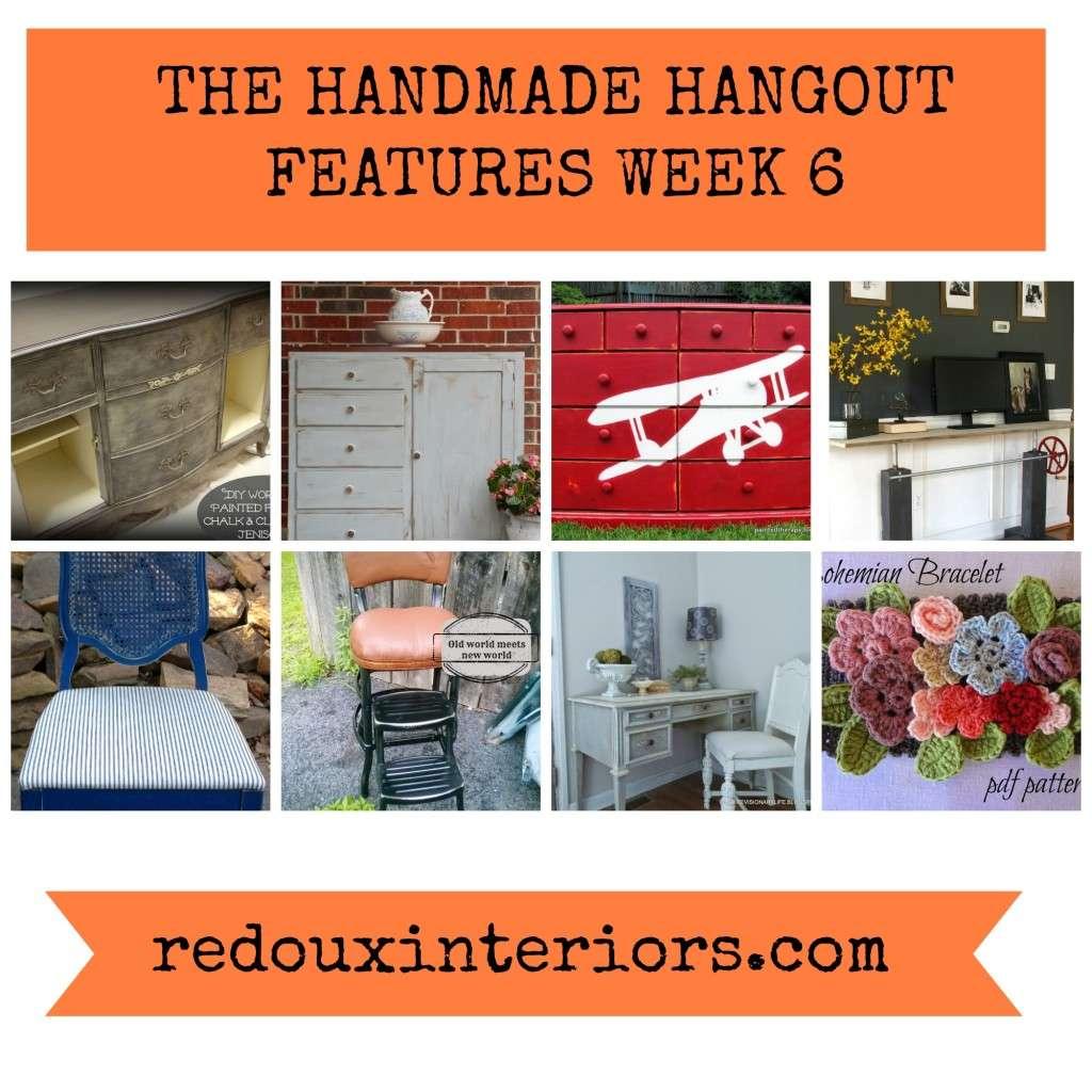 handmade hangout features week 6 redouxinteriors