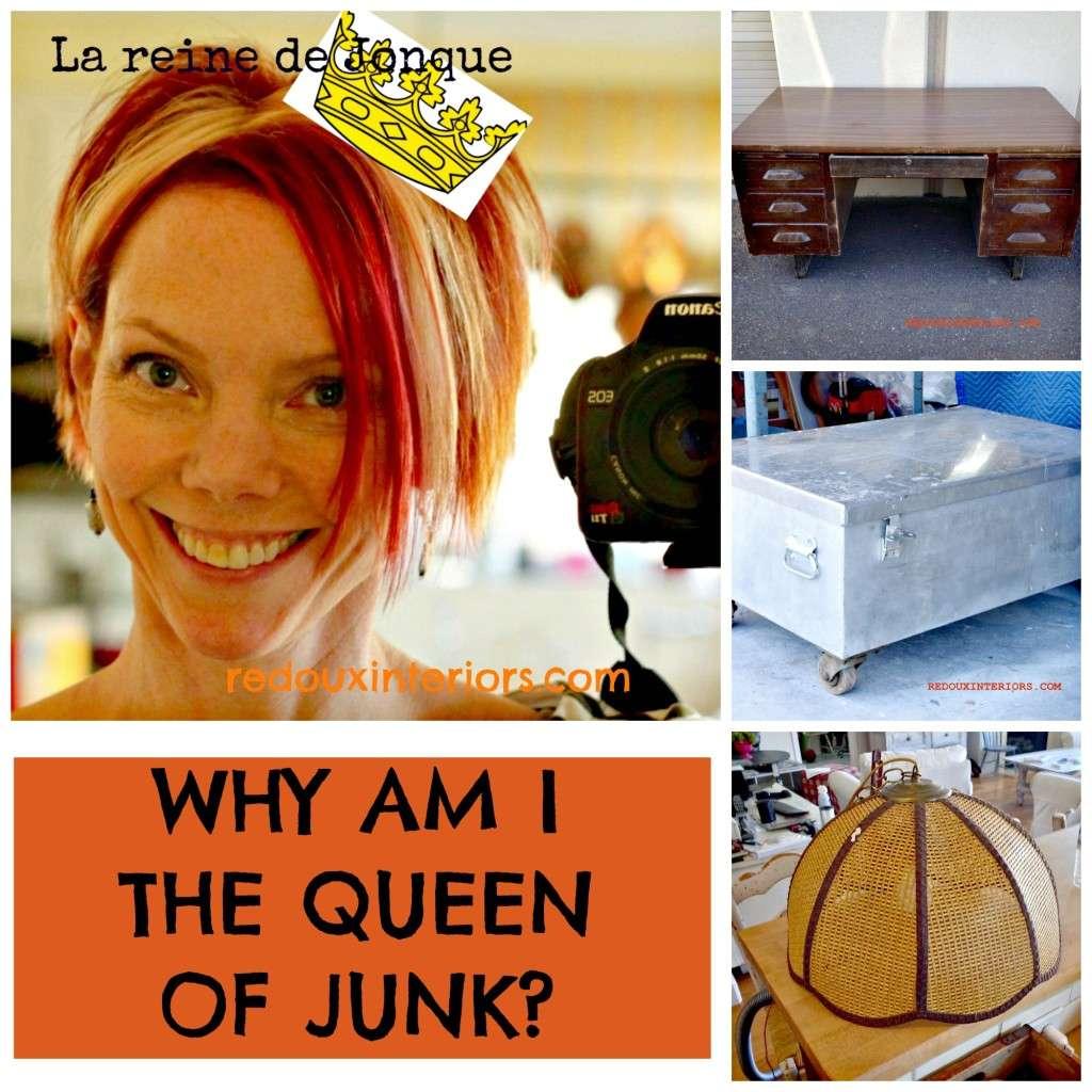 trashy tuesday queen of junk redouxinteriors