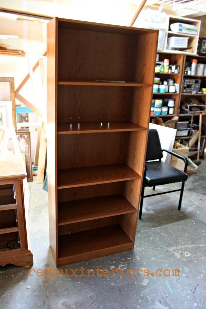 Curbside Bookshelf redouxinteriors