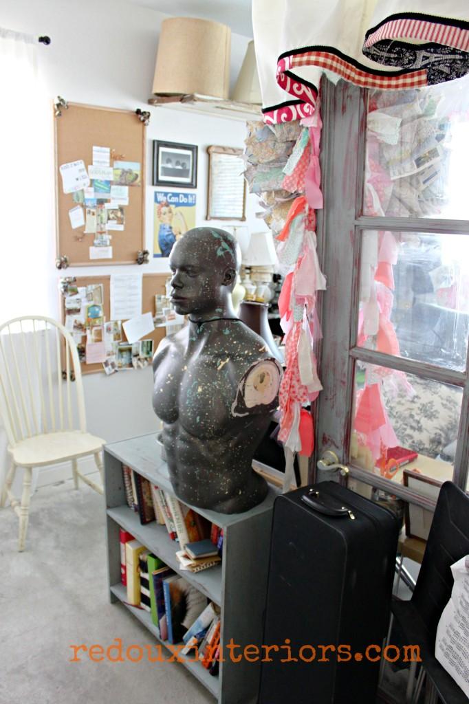 Office that junk built shelving redouxinteriors