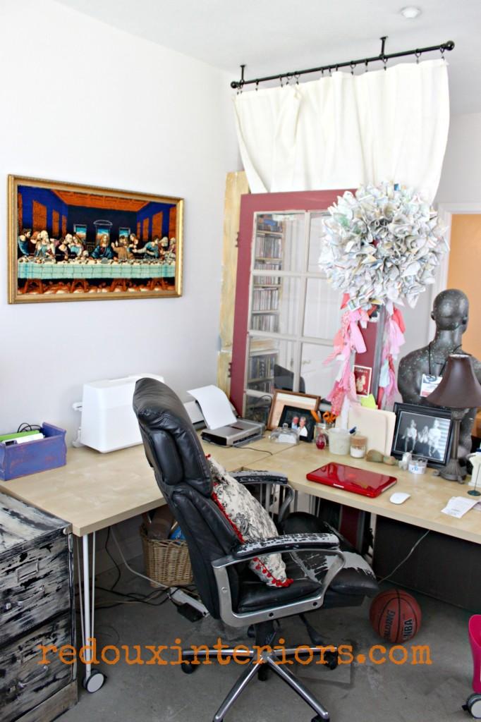 Office that junk built work area redouxinteriors
