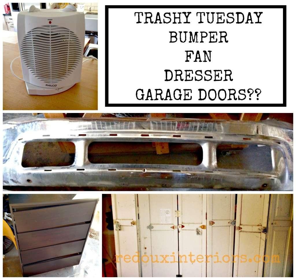 Trashy Tuesday weekly Dumpster haul redouxinteriors