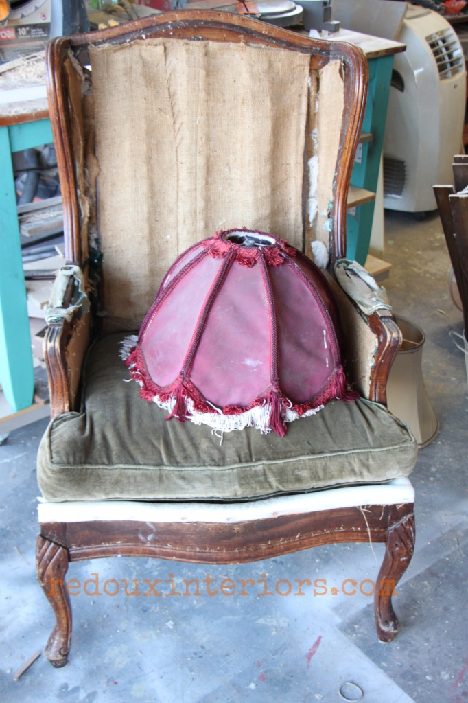 dumpster deconstructed chair redouxinteriors