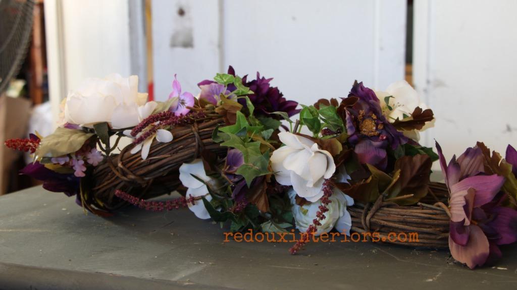 dumpster found grapevine mini wreaths redouxinteriors