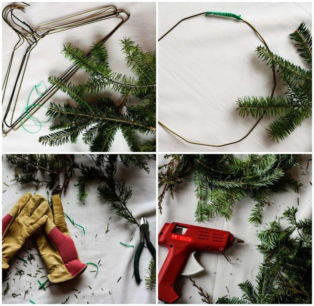evergreen wreath ingredients