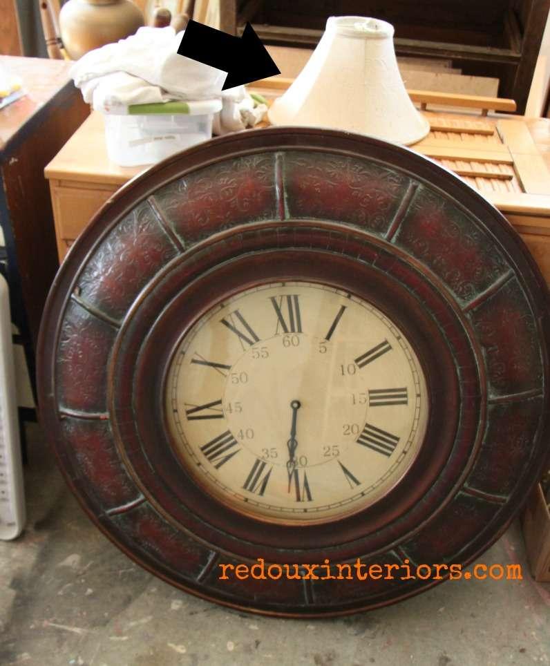 dumpster found clock redouxinteriors