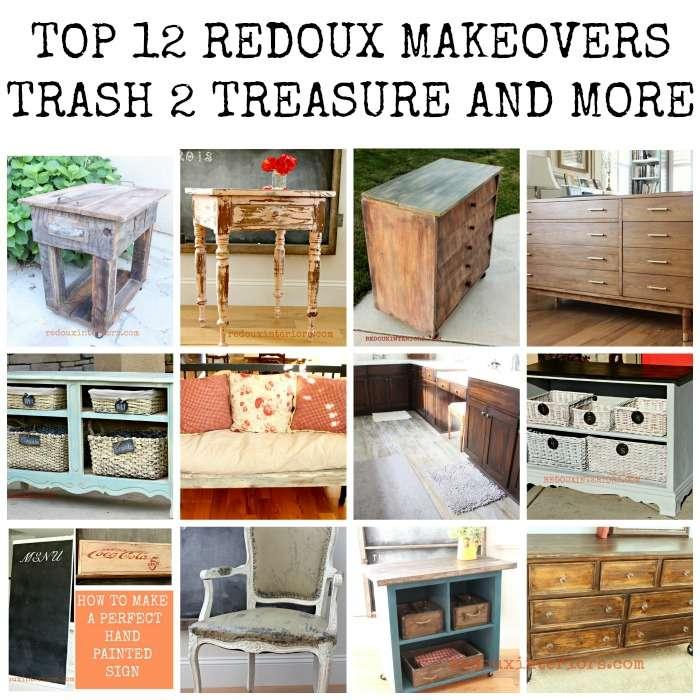 top 12 trash to treasure makeovers redouxinteriors