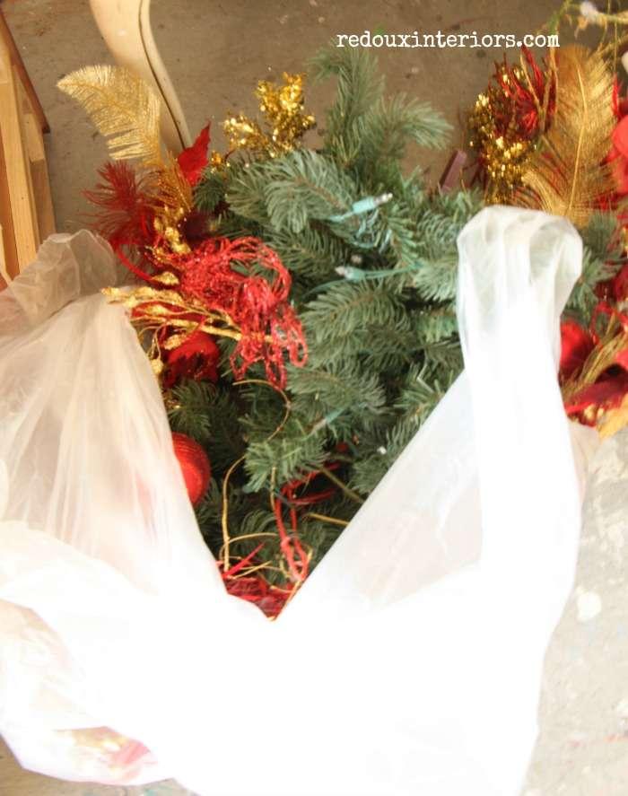 Dumpster christmas decor redouxinteriors