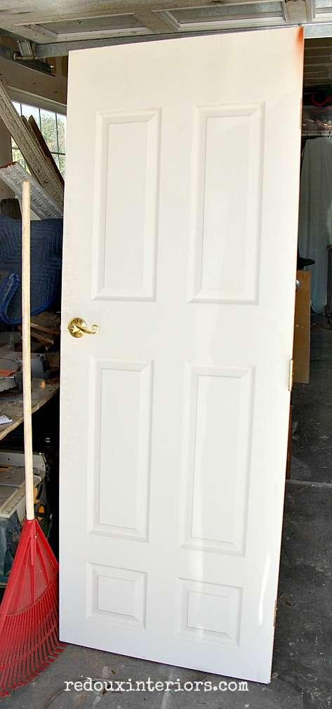 Dumpster found door redouxinteriors