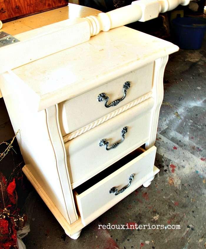 Dumpster found nightstand redouxinteriors
