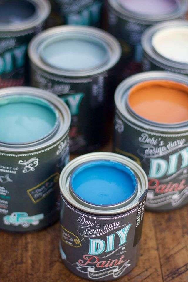 DIY Paint cans