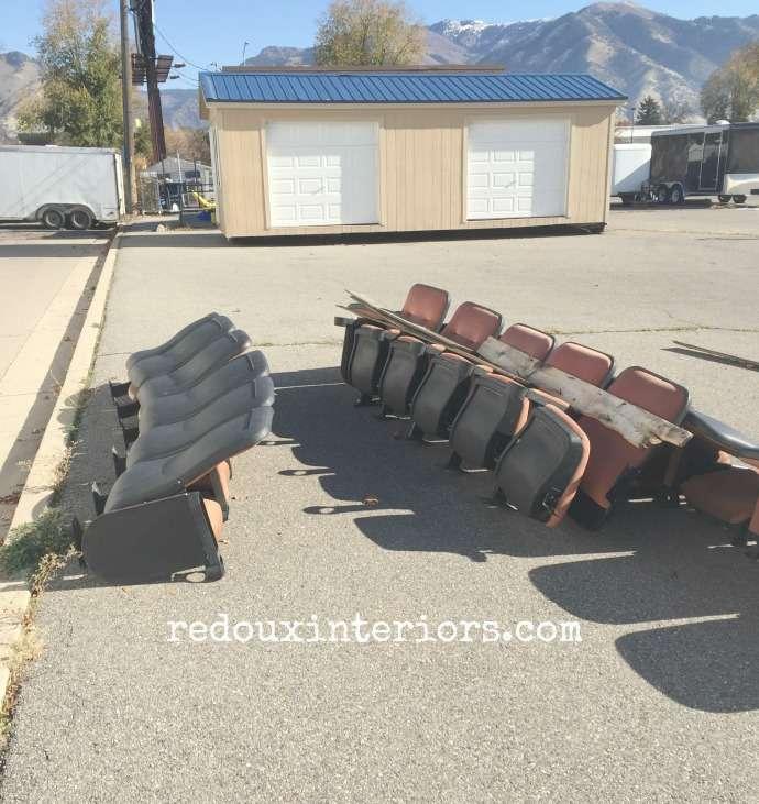 Theater Seating Junk redouxinteriors