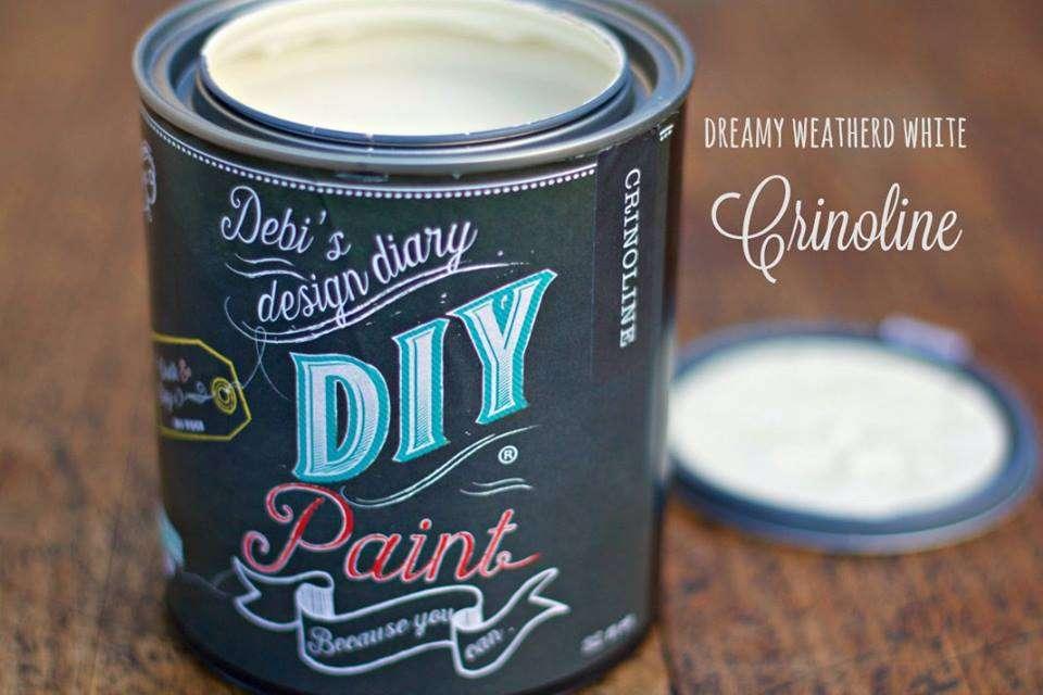 DIY Paint Crinoline