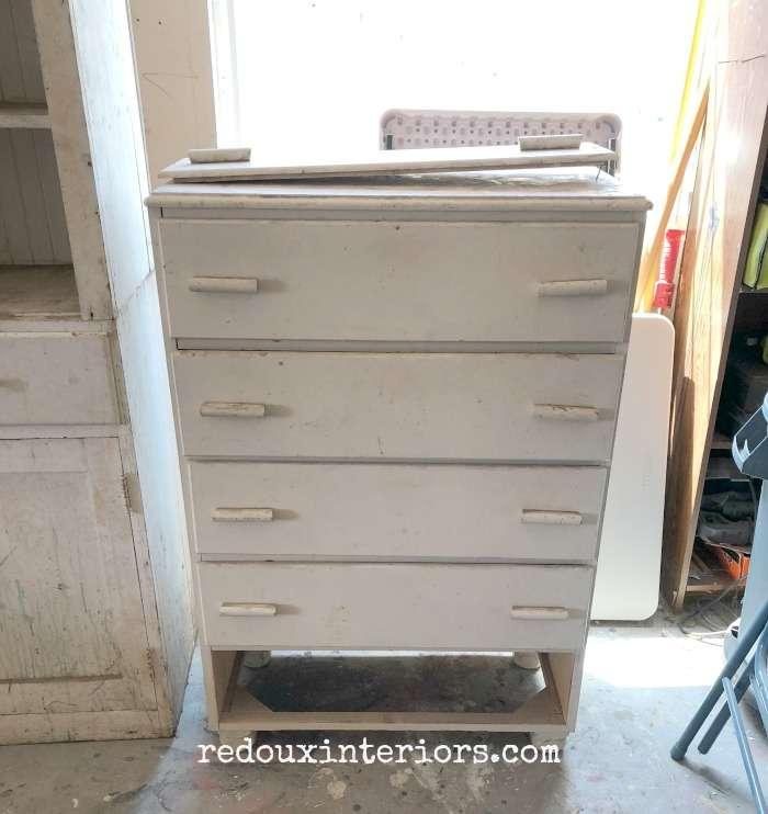Free Tall White Dresser Missing Drawer Redoux